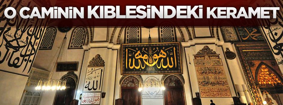 Bayezid Camisi'nin kıblesindeki keramet