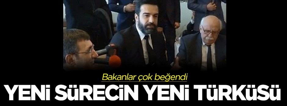 Berdan Mardini barış için türkü besteledi
