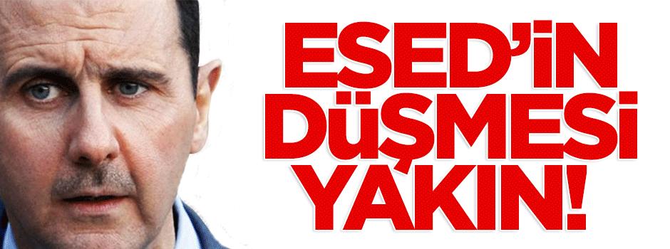 Beşşar Esed'in düşmesi yakın!
