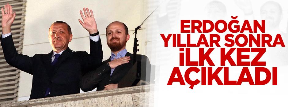 Erdoğan yıllar sonra ilk kez açıkladı!