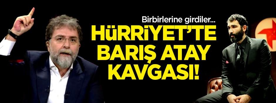 Ahmet Hakan ve Faruk Bildirici birbirlerine girdi! Hürriyet'te Barış Atay kavgası
