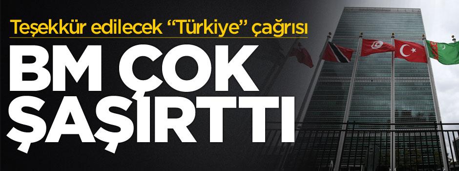 """BM'nin """"Türkiye"""" çağrısı şaşırttı"""