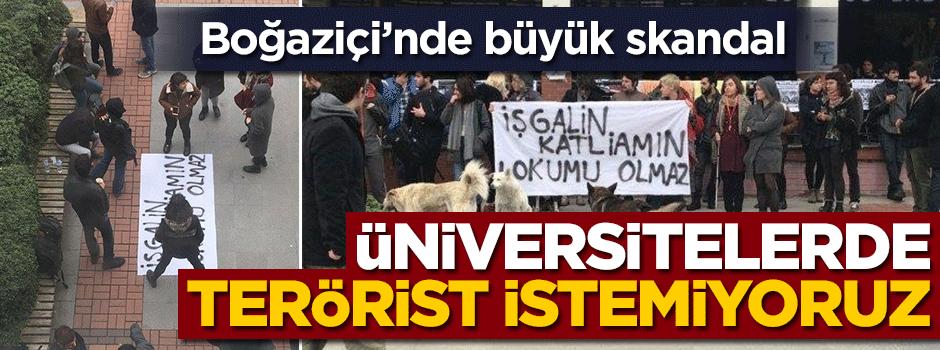 Boğaziçi'nde skandal! Afrin şehitlerine hakaret ile ilgili görsel sonucu