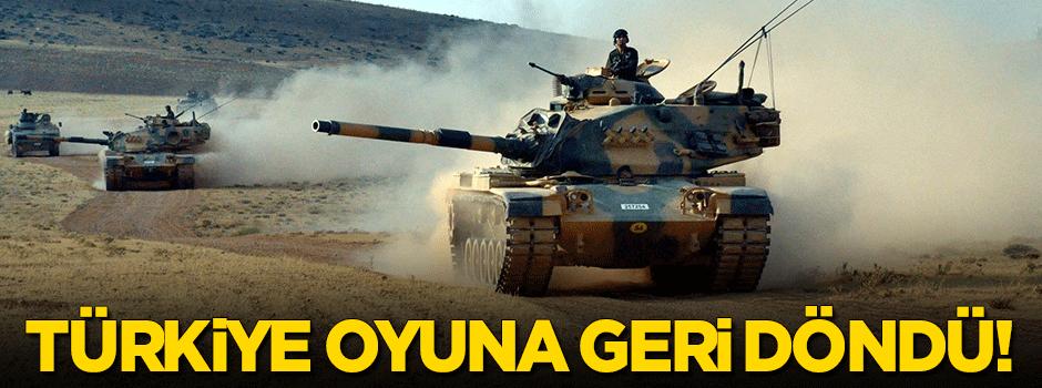 'Bu operasyonla Türkiye oyuna yeniden döndü'