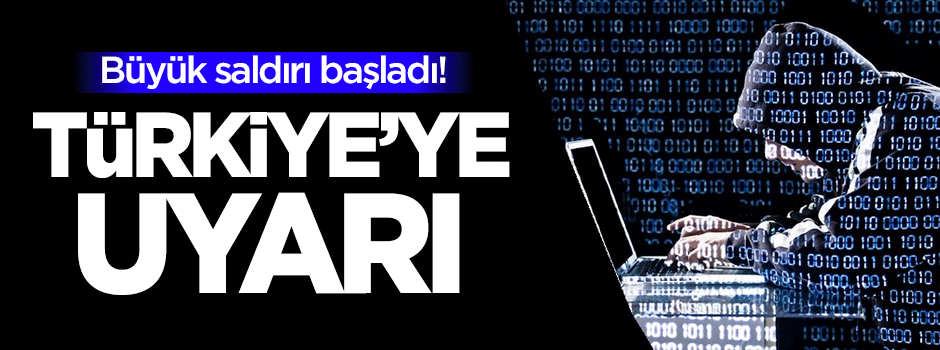 Büyük saldırı başladı! Türkiye'ye uyarı