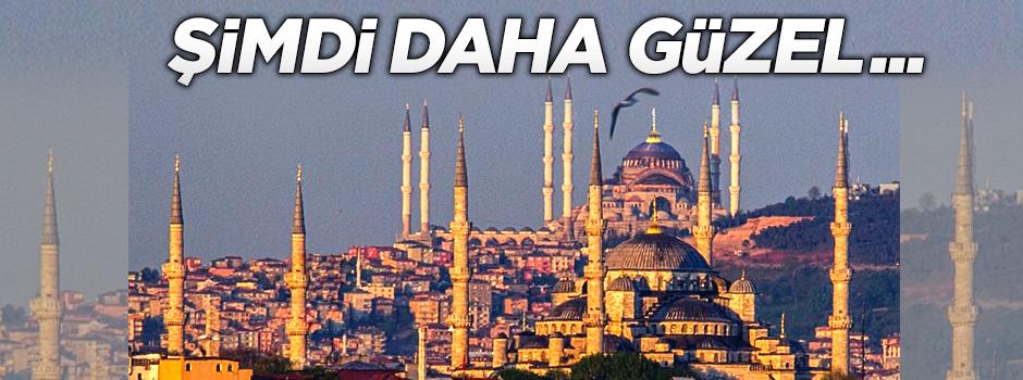 Çamlıca Camisi İstanbul'un güzelliğine güzellik kattı