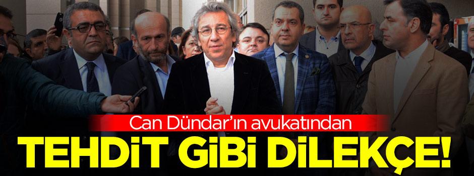 Can Dündar'ın avukatından tehdit gibi dilekçe!