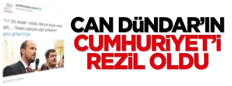 Can Dündar'ın Cumhuriyet'i rezil oldu