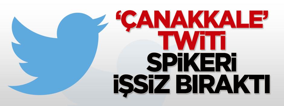 'Çanakkale' twiti spikeri işsiz bıraktı