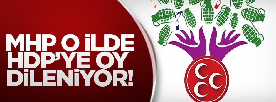 Çarpıcı iddia: MHP o ilde HDP'ye oy istiyor