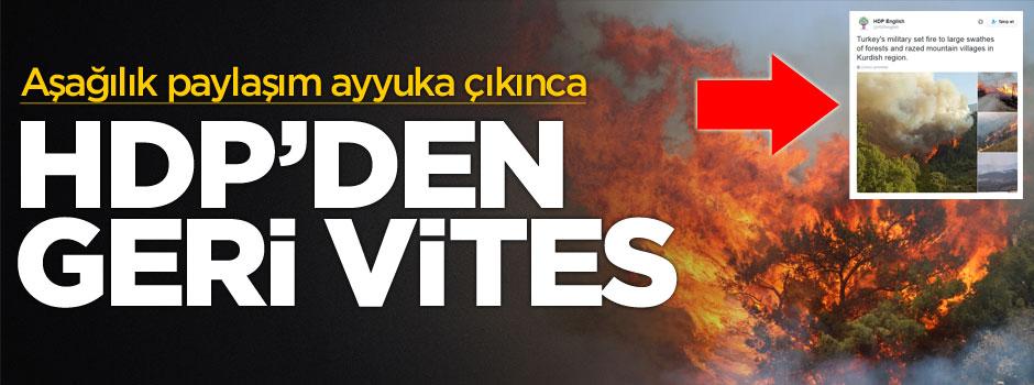Çavuşoğlu'nun sert tepkisi sonrası HDP özür diledi!