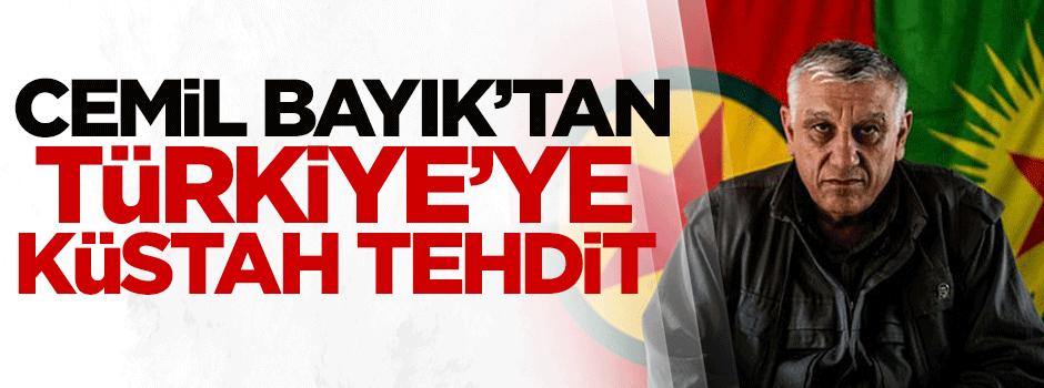 Cemil Bayık'tan Türkiye'ye küstah tehdit!