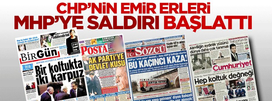 CHP beslemeli medya MHP ve Bahçeli'ye saldırı başlattı