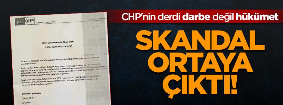 CHP'nin Taksim mitingi bir oyun mu?
