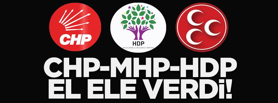 CHP-MHP-HDP el ele verdi!