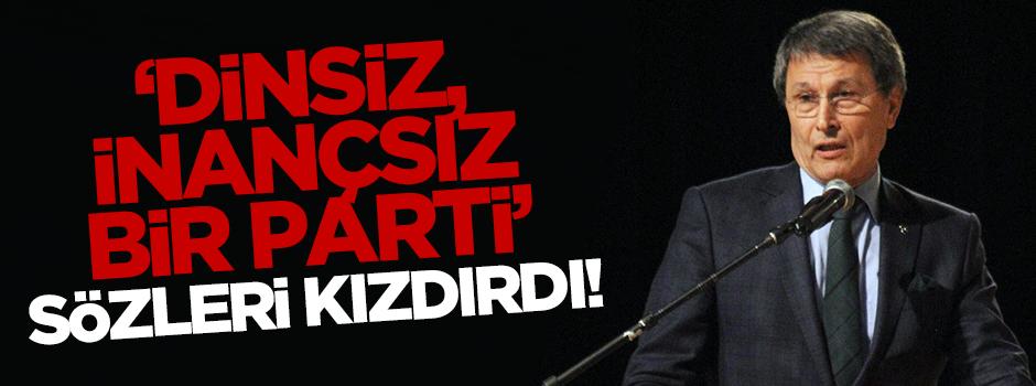 CHP'de 'dinsiz, inançsız parti' şaşkınlığı!
