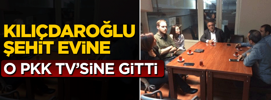 CHP'den PKK televizyonuna destek