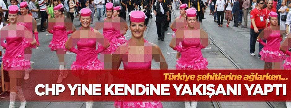 CHP'li belediyeden festival açılışı