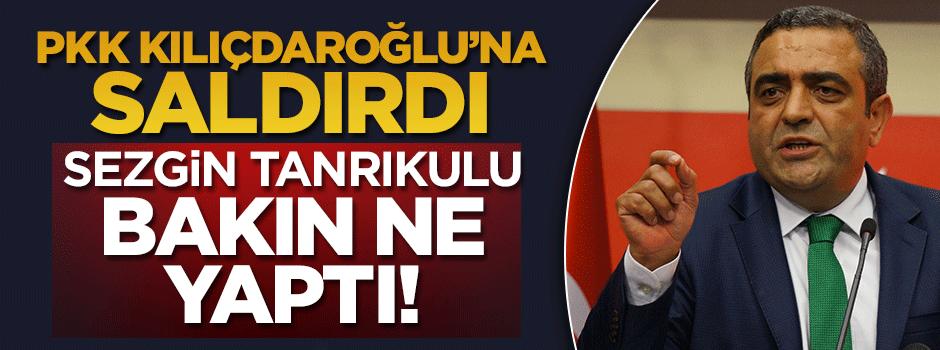PKK Kılıçdaroğlu'na saldırdı, Tanırıkulu bakın ne yaptı!