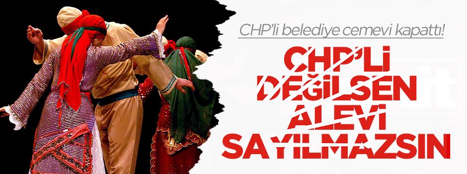 'CHP'li değilsen Alevi sayılmazsın'