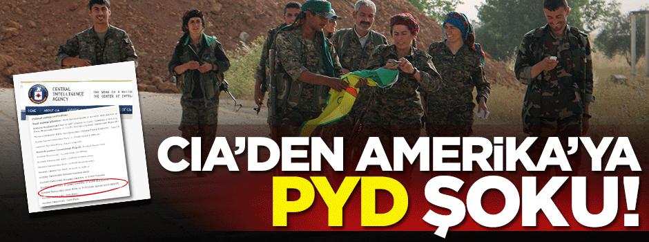 Amerika'ya CIA'den büyük şok: PYD...