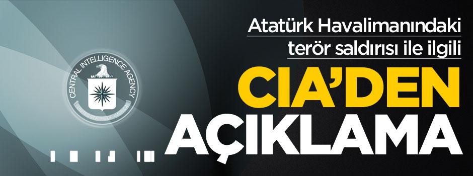 CIA'den Atatürk Havalimanı açıklaması