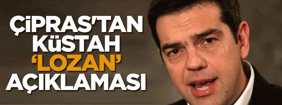 Çipras'tan küstah 'Lozan' açıklaması