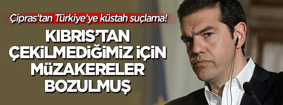 Çipras'tan Türkiyəyə həyasız suçlama!