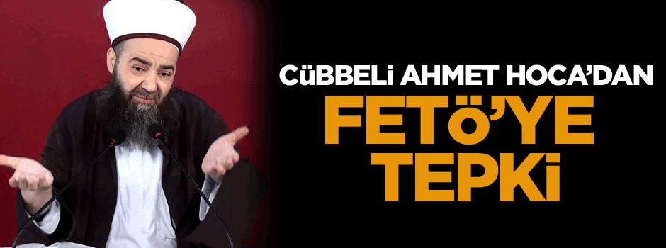 Cübbeli Ahmet Hoca'dan FETÖ'ye tepki