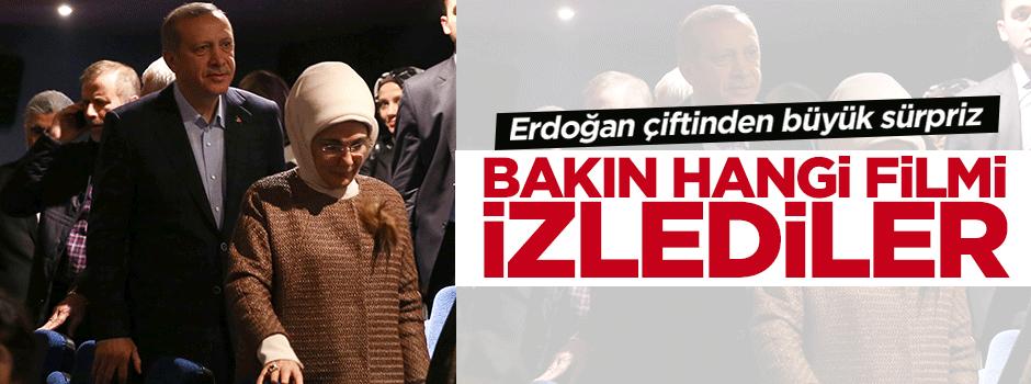 Cumhurbaşkanı Erdoğan o filmi izledi
