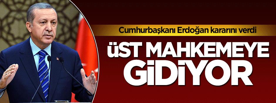 Cumhurbaşkanı Erdoğan Springer'e atığı davayı üst mahkemeye taşıyor