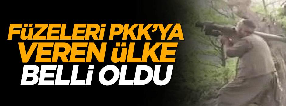 Erdoğan isim verdi, Füzeleri PKK'ya onlar veriyor