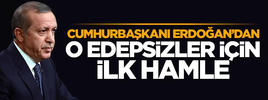 Erdoğan'a küfür eden o edepsizler şimdi yandı