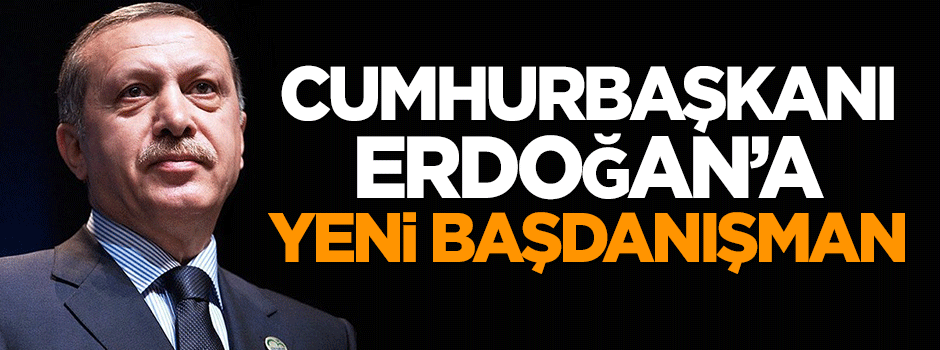 Cumhurbaşkanı Erdoğan'a yeni başdanışman