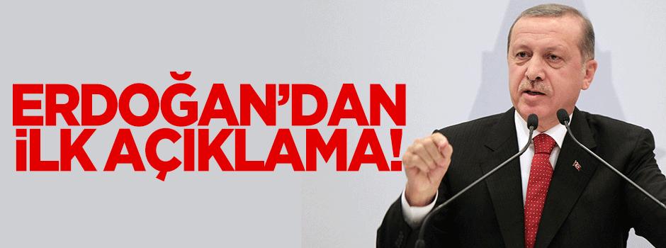 Cumhurbaşkanı Erdoğan'dan 'uçak' açıklaması