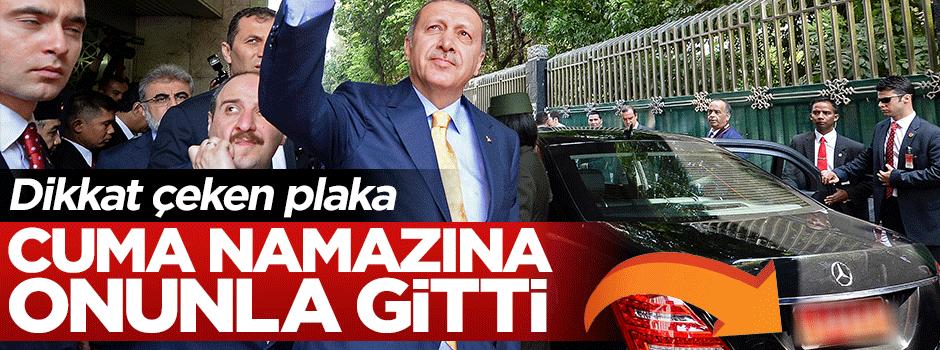 Cumhurbaşkanı Erdoğan'ın aracının dikkat çeken plakası!