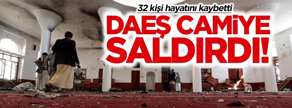 DAEŞ camiye saldırdı! 32 kişi öldü