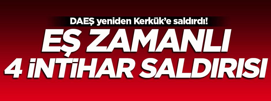 DAEŞ Kerkük'e yeniden saldırdı!