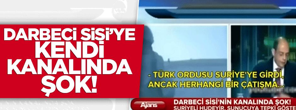 Darbeci Sisi'ye kendi kanalında şok!../VİDEO