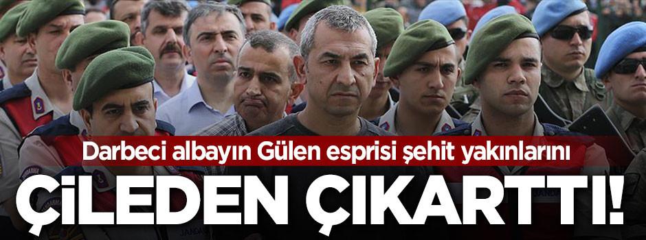 Darbeci teröristin Gülen esprisi çileden çıkardı!