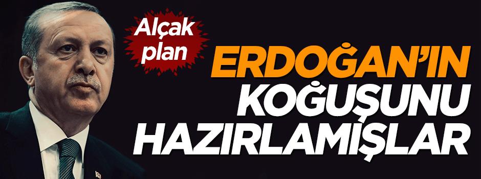 Darbeden önce Erdoğan'a koğuş hazırlamışlar
