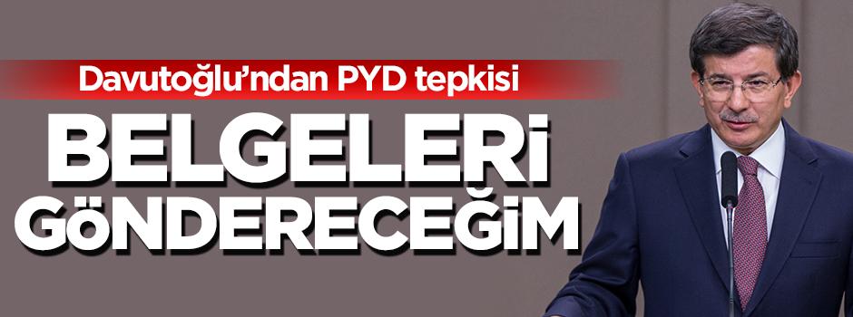 Davutoğlu'ndan ABD'ye rest: Belgeleri göndereceğim!
