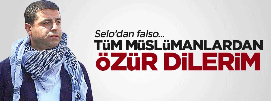 Demirtaş: Özür dilerim bütün müslümanlardan