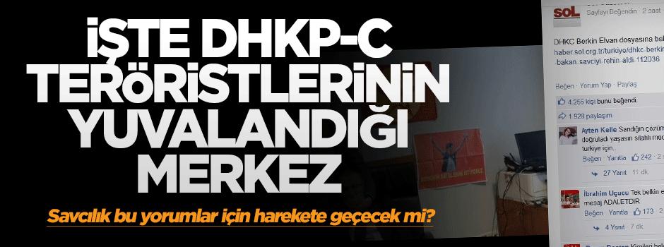 DHKP-C teröristlerinin yuvalandığı merkez: Sol