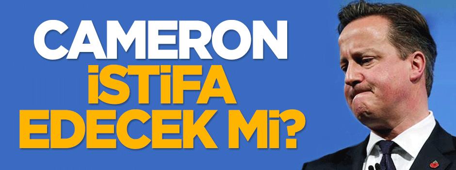 'Cameron istifa edecek mi?'
