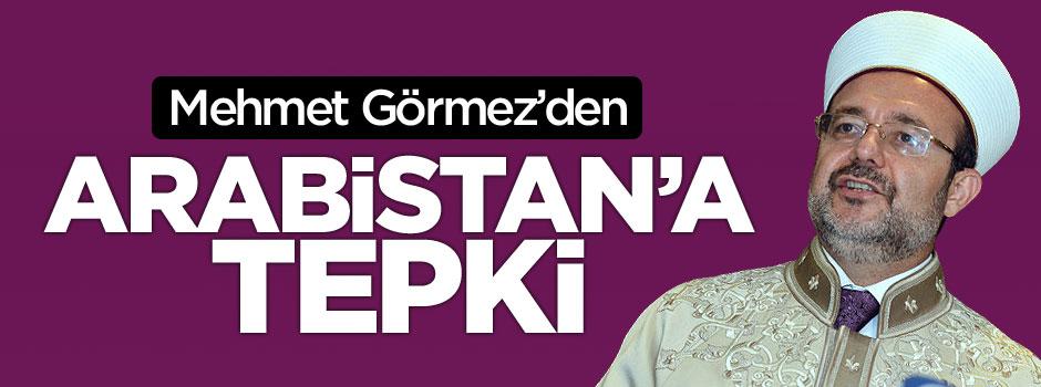 Diyanet İşleri Başkanı Mehmet Görmez'den Arabistan'a 'takvim' ayarı