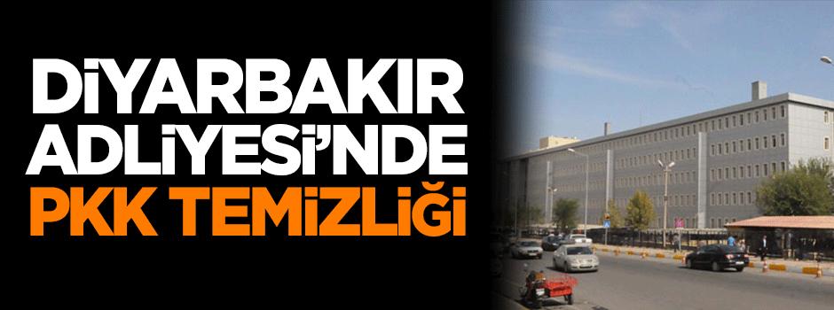 Diyarbakır Adliyesi'nde PKK temizliği