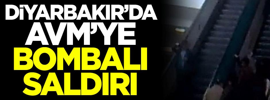 Diyarbakır'da AVM'ye bombalı saldırı