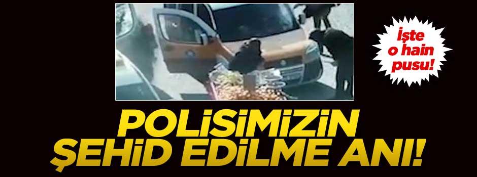 Diyarbakır'da polisin şehit edilme anı!