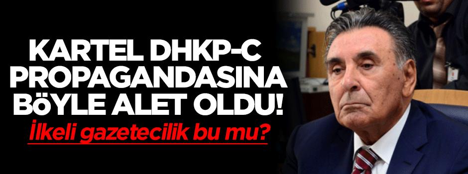 DHKP-C propagandasına alet oldu!